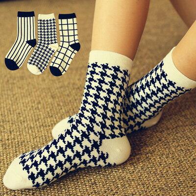 襪子 韓版日系原宿風卡通圖案中筒短襪(一雙入)【O2761】☆雙兒網☆ 0
