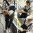 韓版經典刷破質感顯瘦吊帶牛仔褲【P2724】☆雙兒網☆ - 限時優惠好康折扣