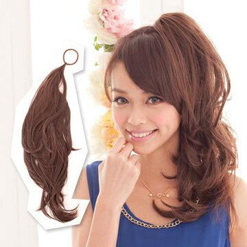 ☆雙兒網☆HOT!材質再升級新耐熱假髮【MT010】多用途鐵絲髮條可當馬尾包包頭 0