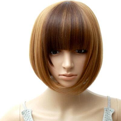 ☆雙兒網☆高仿真超自然整頂假髮【MB081】韓系可愛BOBO厚厚短髮 0