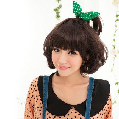 ☆雙兒網☆HOT!材質再升級新耐熱假髮【MX050】公主小妹大QQ髮型 0