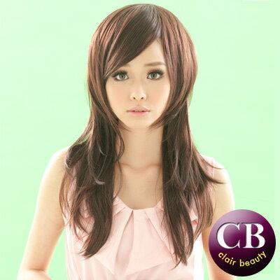 ☆雙兒網☆【MC009】周秀娜款自然微捲中長捲髮假髮-咖啡色 0