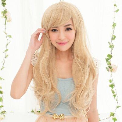 《買一送一》☆雙兒網☆HOT!材質再升級新耐熱假髮【MA007】美式甜心夢幻女郎長捲髮 1