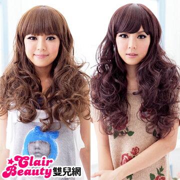 ☆雙兒網☆HOT!材質再升級新耐熱假髮【MA032】耐熱纖維-北歐童話鄰家女孩可愛長捲髮型 0