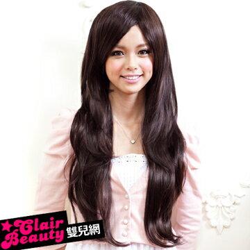 ☆雙兒網☆與日本同步流行擬真係假髮【MA036】氣質女星甜姐兒侯佩岑微捲髮型