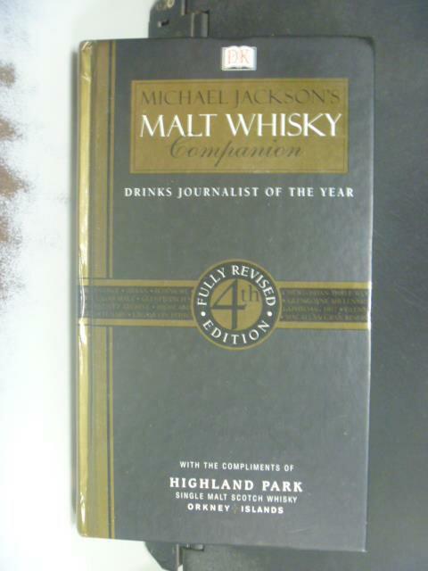 ~書寶 書T1/餐飲_GGR~Malt Whisky Companion_Michael