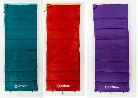 2入-好野 Outthere 好窩睡袋 睡袋 體積小 重量輕 可拼接 七孔棉 旅遊 露營 住宿