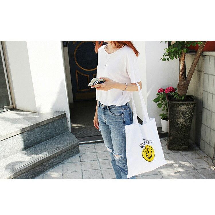 手提包 帆布包 手提袋 環保購物袋【SPYF14】 BOBI  11/10 2