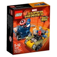 美國隊長周邊商品推薦【LEGO 樂高積木】SuperHeros系列-美國隊長vs.紅骷髏 LT-76065