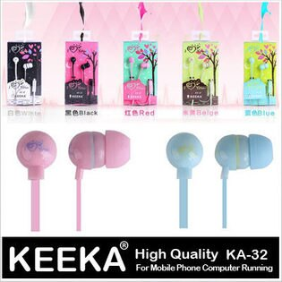 KA32 LOVE YOU 入耳式 高音質 MP3 電腦 耳機 iPhone 三星 HTC 通用‧AIZO Design【D0106056】