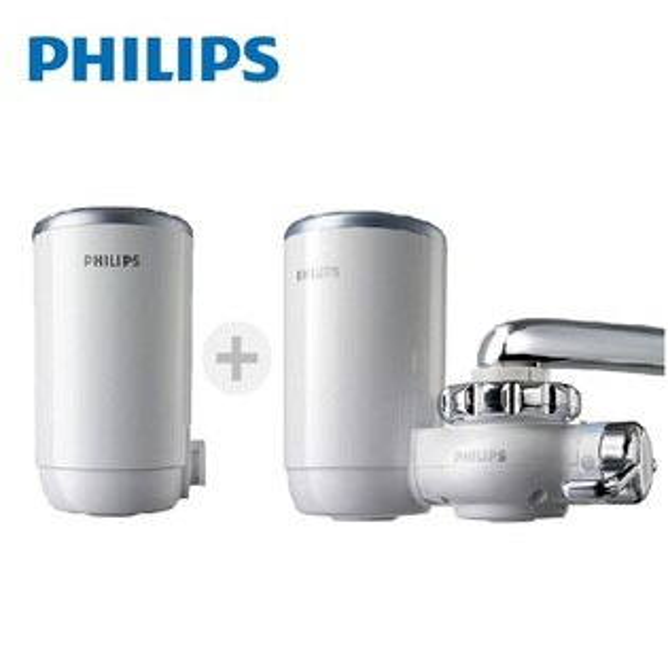 (升級體驗)飛利浦PHILIPS超濾龍頭式淨水器組合(WP3812+WP3922)