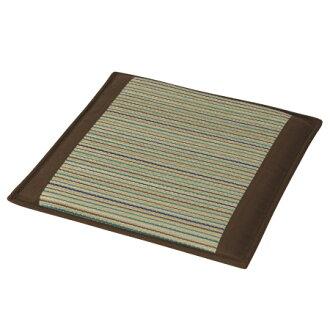 藺草方形座墊 低反發 PLAIN6