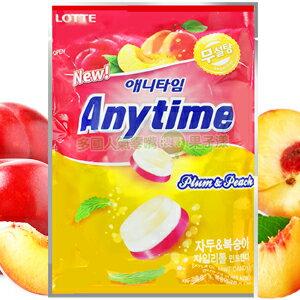 韓國Lotte 樂天 三層薄荷涼糖 蜜李+水蜜桃口味 [KR010] - 限時優惠好康折扣