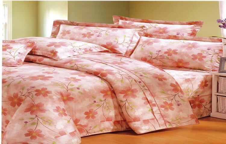 [床工坊]台製高級精梳棉 [半套}鋪棉厚床罩(包)+枕頭套(無被套) - 限時優惠好康折扣