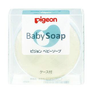 日本【貝親Pigeon】透明香皂/盒