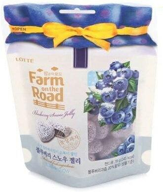 ★韓國 LOTTE Farm on the road 田園水果軟糖★【脆思比】草莓.蜜橘.番茄.藍莓 1