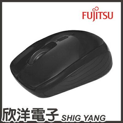 ※ 欣洋電子 ※ FUJITSU 富士通 USB無線光學滑鼠 (FR400) / 紅、黑 兩款色系自由選購