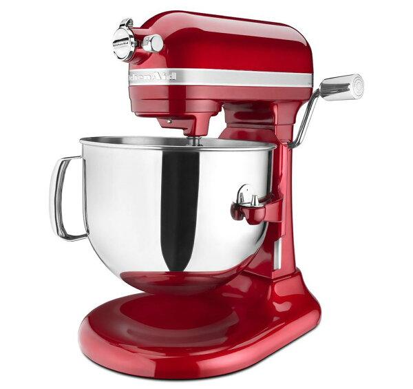 現貨 紅 KitchenAid KSM7586PCA 7-Quart Pro Line Stand Mixer Candy Apple Red升降式攪拌機(紅色)