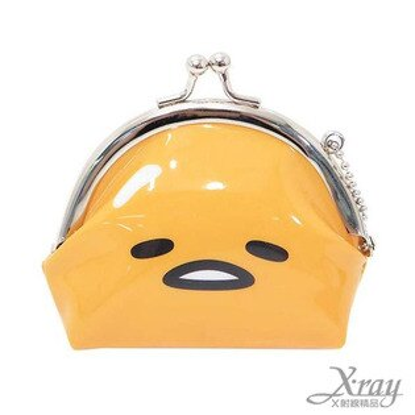 X射線【C047393】蛋黃哥造型塑膠零錢包,美妝小物包/口金包/包包