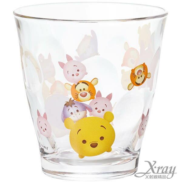 X射線【C065599】玻璃杯-小熊維尼,開學必備/萬用罐/迪士尼