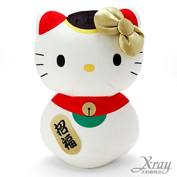 X射線【C090508】Hello Kitty 絨毛娃娃-貓,絨毛娃娃/情人節/婚禮小物
