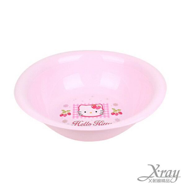 X射線【C120019】HelloKitty粉色浴室臉盆(大),臉盆/盥洗用品/衛浴用品/浴室