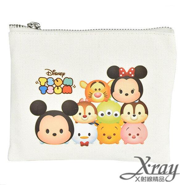 X射線【C496379】迪士尼Tsum帆布方型零錢包,零錢包/迪士尼