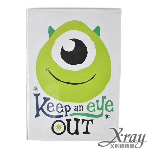 X射線【C105140】怪獸大學書本式便條紙-小,筆記本/記事本/辦公小物/怪獸大學