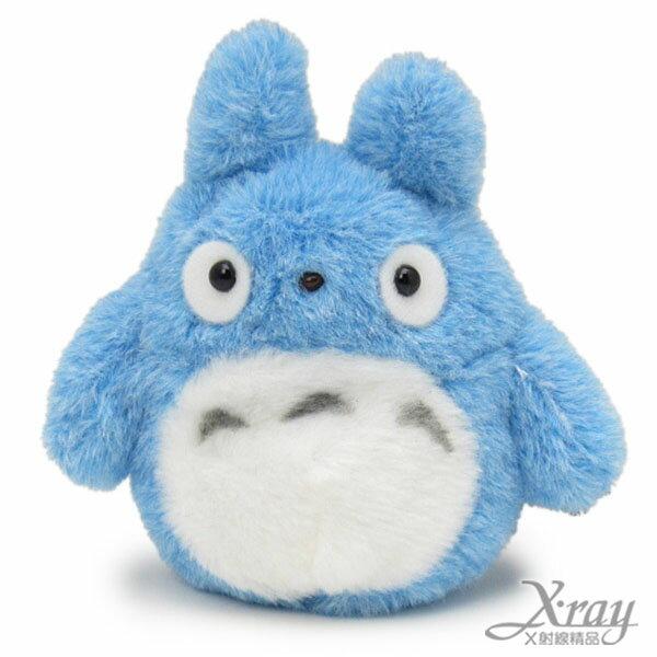 X射線【C576437】龍貓絨毛沙包(藍),擺飾/公仔/宮崎駿