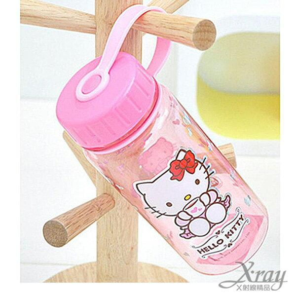 X射線【C023627】Hello Kitty 粉色塑膠冷水瓶,水壺/隨身瓶/飲水壺