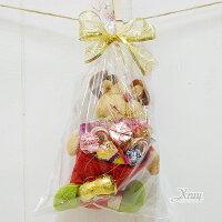 小熊維尼周邊商品推薦X射線【X2952271】聖誕麋鹿玩偶置物箱糖果組,聖誕佈置/聖誕掛飾/裝飾/吊飾/聖誕樹