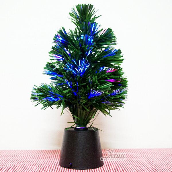 X射線【X020001】1呎聖誕光纖樹(不包含吊飾組),聖誕樹/聖誕燈/聖誕襪/聖誕禮物袋/聖誕老人衣服