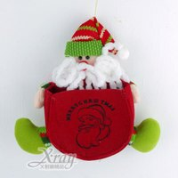 聖誕節禮物推薦X射線【X295751】坐姿聖誕禮物袋(老公公),聖誕節/聖誕禮物/聖誕佈置/聖誕掛飾/聖誕裝飾/聖誕吊飾/聖誕襪/禮物袋