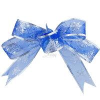 聖誕節禮物推薦X射線【X990012】手工緞帶-藍(6入),聖誕節/聖誕花/聖誕佈置/聖誕掛飾/聖誕裝飾/聖誕吊飾/禮物袋