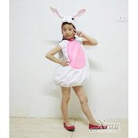 萬聖節Halloween到X射線【W390022】兔子蓬蓬裝(附頭套),化妝舞會/角色扮演/尾牙表演/萬聖節服裝/聖誕節/兒童變裝