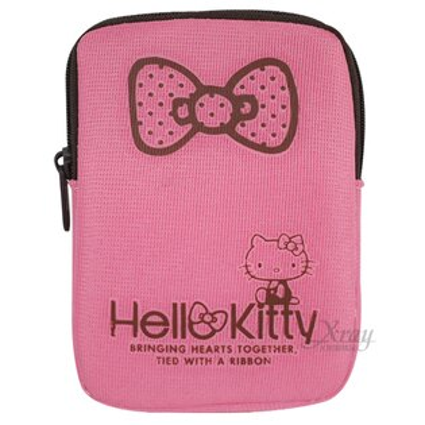 X射線【C123562】Kitty手機包,收納包/化妝包/旅行收納包/萬用包