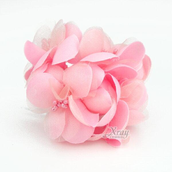 X射線【Y100011】圓滿裝飾花5入(粉紅),婚禮小物/婚禮佈置/DIY手工藝/花束材料/包裝材料