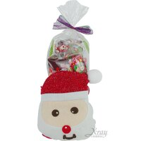 小熊維尼周邊商品推薦X射線【X2945011】老公雪人糖果袋糖果組(紅),聖誕襪/聖誕節禮物/禮物袋/聖誕糖果/聖誕大餐