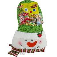 X射線【X2961472】老公雪人糖果袋糖果組(雪人),聖誕襪/聖誕節禮物/禮物袋/聖誕糖果/聖誕大餐