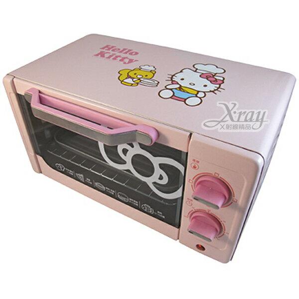 X射線【C165431】HelloKitty電烤箱(粉.廚師),烹飪用具/廚房用品/雙旋鈕設計/OT-522
