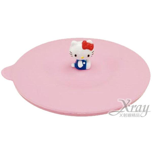 X射線【C116278】kitty造型矽膠杯蓋(粉),軟質防漏杯蓋/防塵杯蓋/保溫/保冷/環保/易清洗/安全衛生