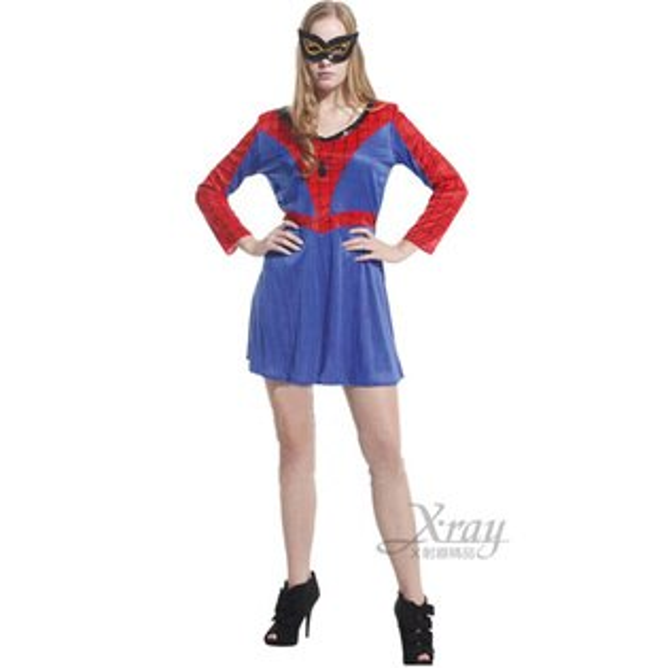 X射線【W646612】大女蜘蛛俠,化妝舞會/角色扮演/尾牙表演/萬聖節造型服裝/聖誕節/兒童變裝/蜘蛛人