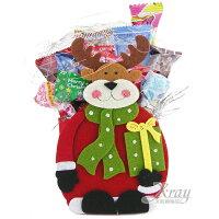 小熊維尼周邊商品推薦X射線【X460403】聖誕糖果組(麋鹿),糖果襪/糖果罐/聖誕節/交換禮物/聖誕小禮物