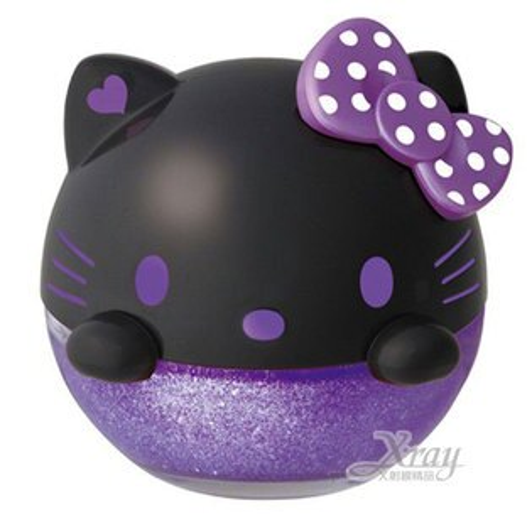 X射線【C864384】Hello Kitty 汽車芳香劑《黑紫.檀香》超可愛大頭造型 ,芳香瓶/芳香包/薰香劑