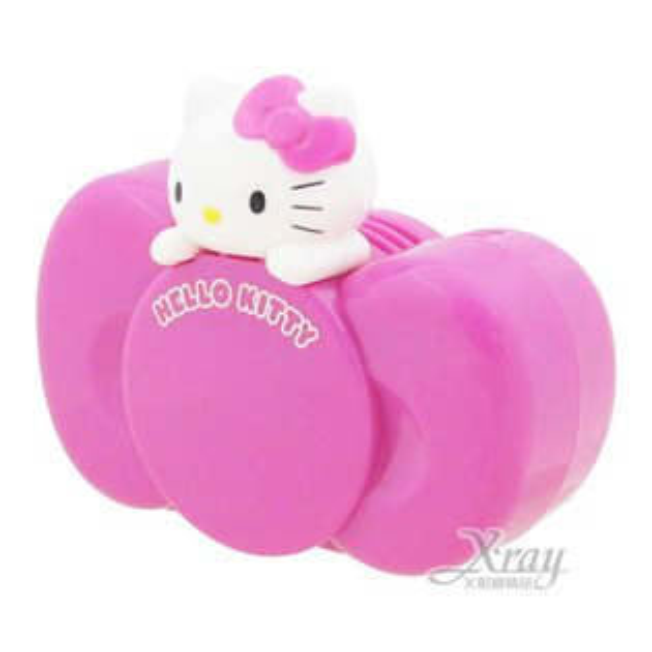 X射線【C864469】Hello Kitty 蝴蝶結造型車用芳香劑(桃.檀香),芳香包/芳香瓶