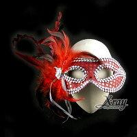 萬聖節Halloween到X射線【W402906】萬聖節媚惑女王面具,Party/角色扮演/化妝舞會/表演造型都合適~(D款)