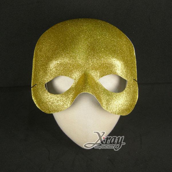 X射線【W600020】金蔥面具,萬聖節服裝/派對用品/舞會道具/cosplay服裝/角色扮演