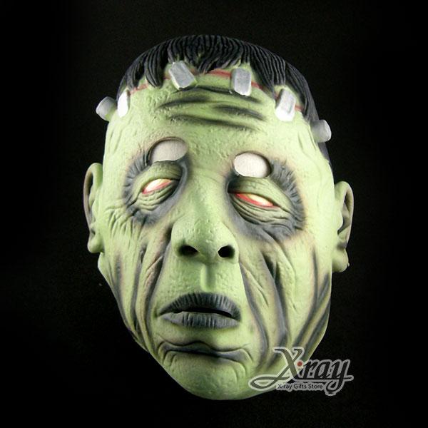 X射線【W401831】鋼釘人乳膠半罩面具 - 派對裝扮/舞會變裝/表演都適合