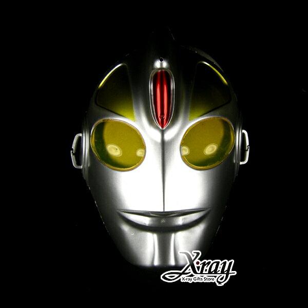 X射線【W600057】鹹蛋超人面具 - 派對裝扮/舞會變裝/表演都適合 0