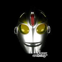 萬聖節Halloween到X射線【W600057】鹹蛋超人面具 - 派對裝扮/舞會變裝/萬聖節/表演都適合